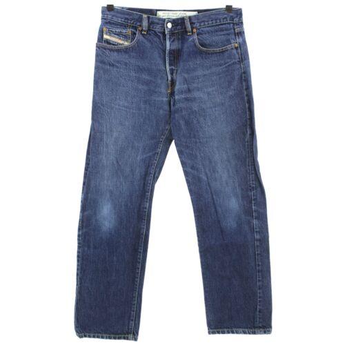 #4142 DIESEL Jeans Donna Pantaloni Fellow 709 Denim Blue Used Blu 36//32
