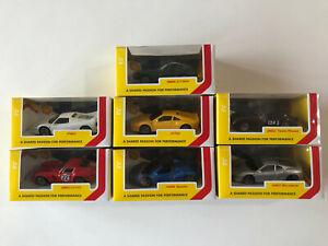 Ferrari-Shell-V-Power-Bburago-2018-Collectible-Full-Set-Diecast-Metal-Cars-1-43