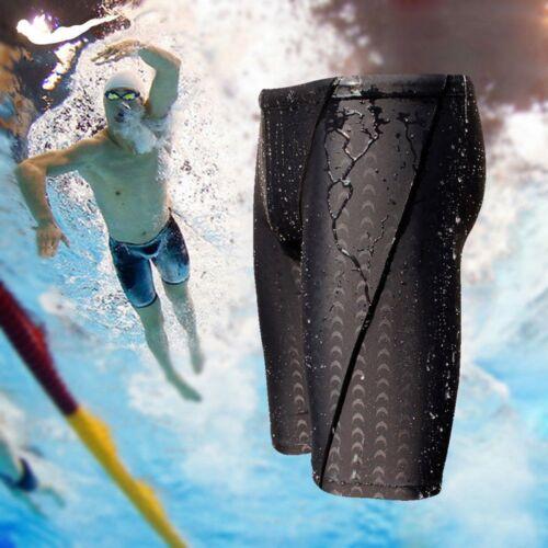 Herren Badehose Training Hose Schwimmhose Bade Short Knielange Jammer Wettkampf