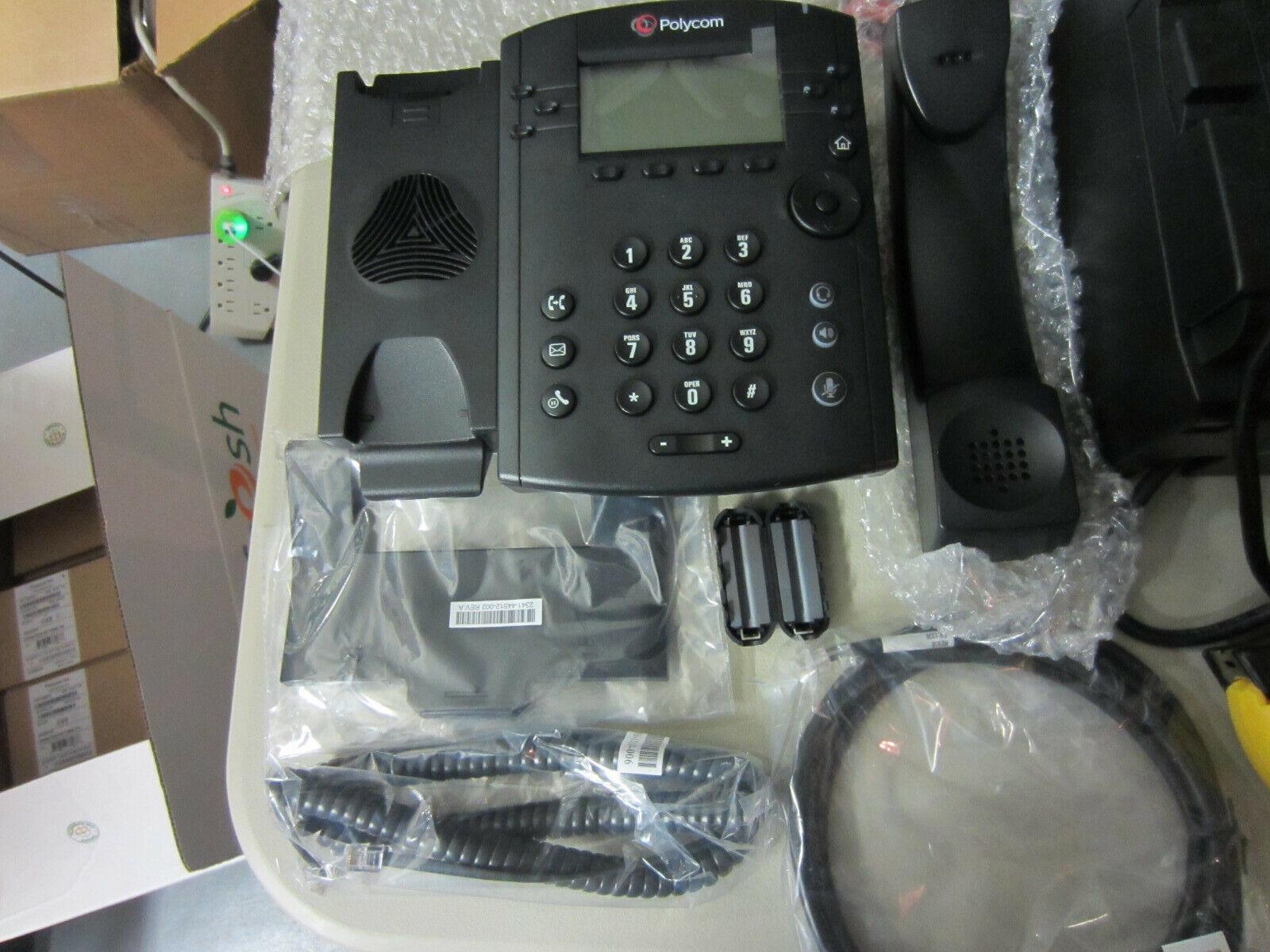 2200-46161-025 Details about  /*New Open Box* Corvisa Polycom VVX310 IP Business Office Phone