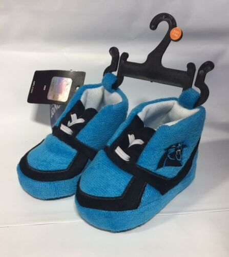 Carolina Panthers Sneaker Baby Booties Slippers NEW Infant Shoes Newborn Shower