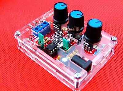 XR2206 Function Generator DIY Kit  Sine, Triangle, Square Output 1HZ-1MHZ +CASE