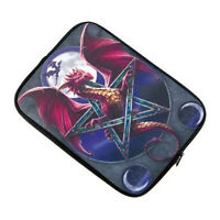Ipad Tablet Ebook Sleeve Case - Lunar Magic Dragon Picture - Ann Stokes Design
