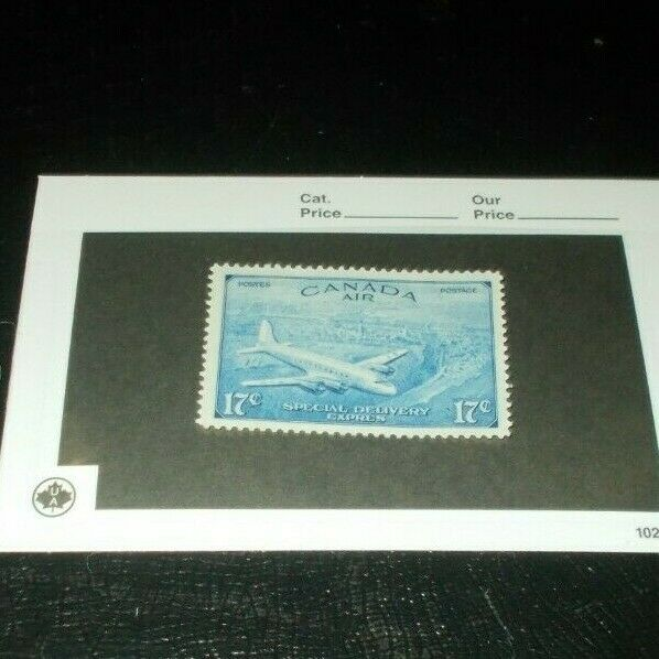 Canada Back Of The Book CE 3 Mint Never Hinged MNH Airmail Stamp