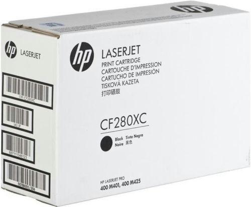 Genuine HP 80X Black Toner - Factory Sealed White Box - CF280XC