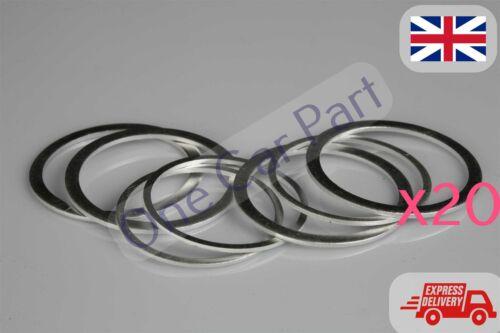 """250 x 3//8/"""" Aluminium UNF Washers Crush Sealing Flat Rings Industrial DIY"""