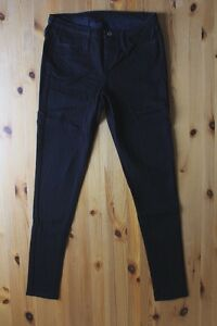 Womens-Stretch-Skinny-Jeans-Jeggings-LEVIS-in-Black-Size-27
