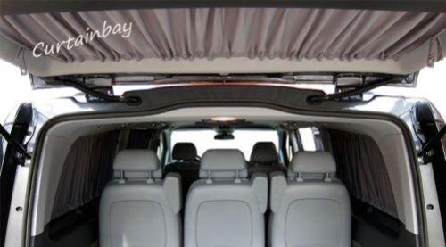 VW T4 Vorhänge für 3 fenster seitenscheiben scheune türen heckklappe rollo