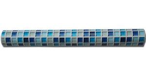 tapete selbstklebend mosaik fliesen marineblau abwischbar blau fliesenspiegel. Black Bedroom Furniture Sets. Home Design Ideas