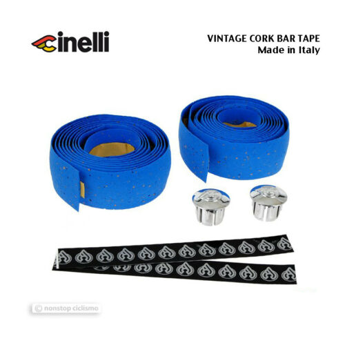 Made in Italy! NOS VINTAGE Genuine Cinelli CORK Handlebar Tape BLUE