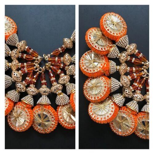1 par de color más recientes de la India Circón latkan cuentas Borlas Sari Blusa duppata