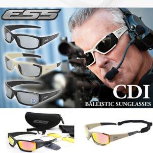 08d11edb73 Image is loading ESS-Polarized-CDI-Rollbar-Ballistic-Sunglasses -Tactical-Goggle-