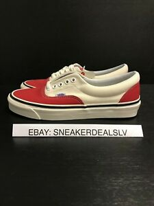 b605a16610 Image is loading VANS-ERA-95-DX-ANAHEIM-FACTORY-OG-RED-