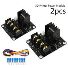 2x For ANET A8 MOSFET Board Upgrade 3D Printer Heated Bed Power Module i3 Black