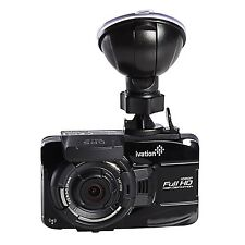 Ivation Dash Cam 32GB HD 1080p GPS Tracking Video & Audio Recorder WiFi Download