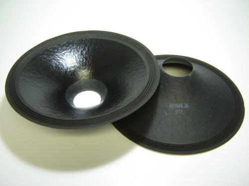 """451549-20 Pair 15/"""" Paper Cones Speaker Parts"""