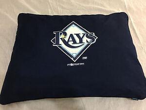 MLB-Tampa-Bahia-Rayos-Logo-Perro-Cama-Grande-Nuevo-con-Tag-Producto-Oficial