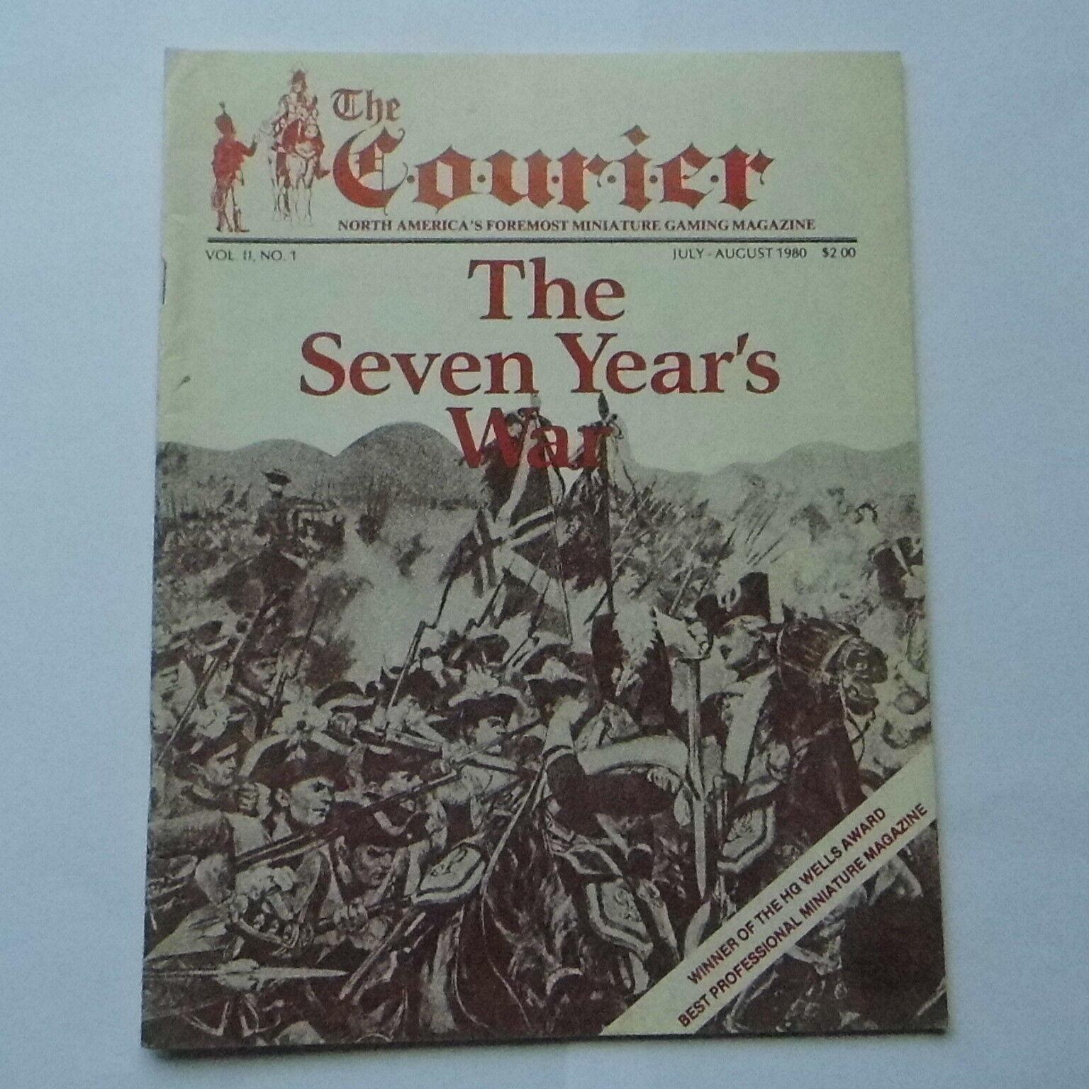 The Courier Magazine - Vol.ii Numéro 1 - Sept Ans War - Jeu de Guerre Magazine
