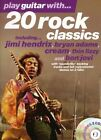 Play Guitar with 20 Rock Classics by Music Sales Ltd (Paperback, 2005)