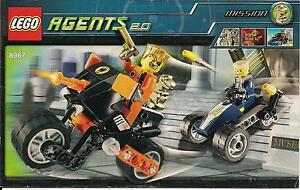 LEGO 8967 Gold Tooth/'s Getaway Agents INSTRUCTION MANUAL ONLY