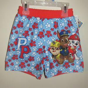 02c5017c43 Infant Boys Paw Patrol Swim Trunks (Size 0-3 M) BRAND NEW W TAGS ...