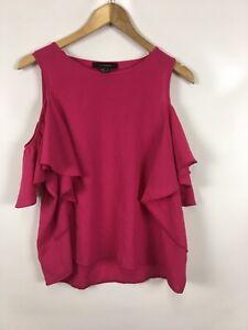 ATMOSPHEREO-Damen-Top-Groesse-42-pink-schlicht-schick-elegant