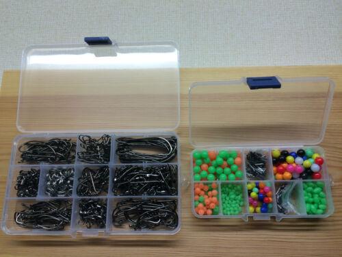 Pêche en mer 600 kit.over items.splits perles émerillons cadeau gratuit crimps /& crochets