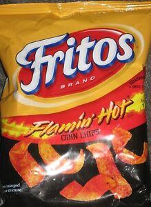 Flamin-039-Hot-Fritos-Corn-Chips-4-25-oz-Bag-Flamin-039-Hots-and-a-Cold-Brew-WOW