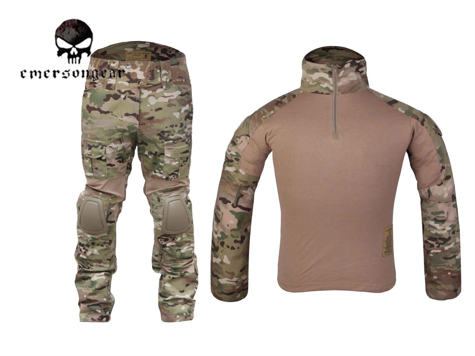EMERSON Gen2 Cype Style Combat Uniform Tactical Hunting BDU MultiCam
