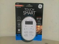 Ge Digital Touch Smart Timer W/ Indoor Plug In, Single Polarized