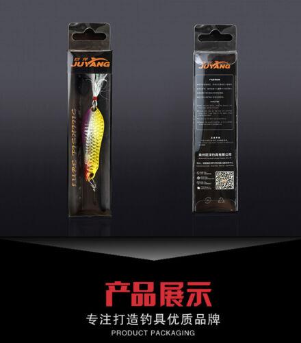 30g S-killer Spinner Spoon Lure Fishing Freshwater Saltwater GT-BIO Lure Blinker