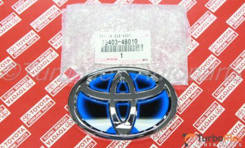 Toyota Camry Hybrid Prius C  Rear Trunk Emblem Genuine 75403-48010  75403-06130