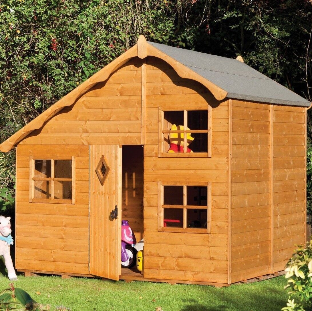 8x7 legnoEN PLAY legno 2 FLOOR bambini PLAY WENDY casa BAMBINI Outdoor LADDER