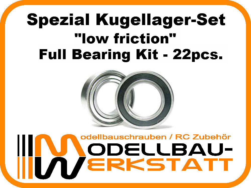 SPEZIAL Kugellager Set Mugen MBX-7R ECO full bearing kit