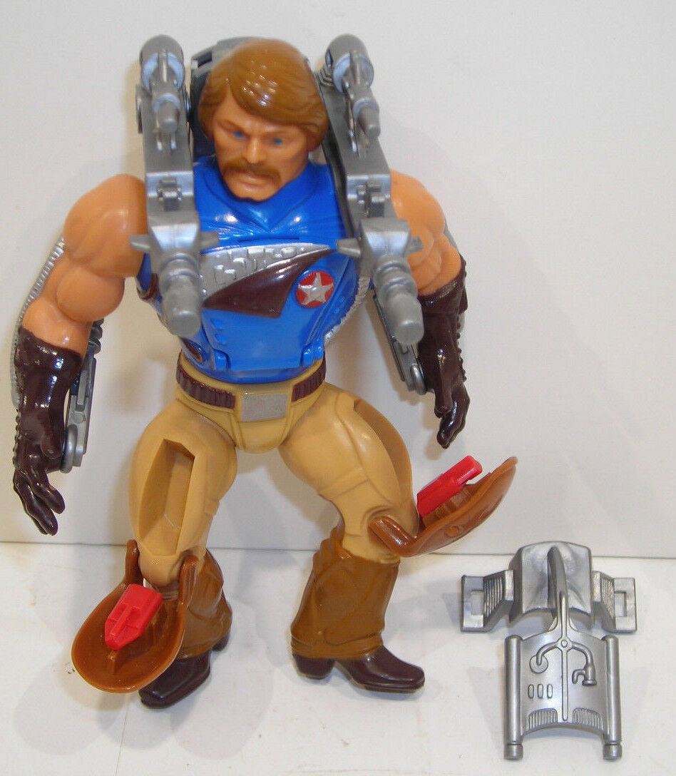 Masters of the Universe RIO BLAST Action Figure COMPLETE Vintage MOTU He-Man