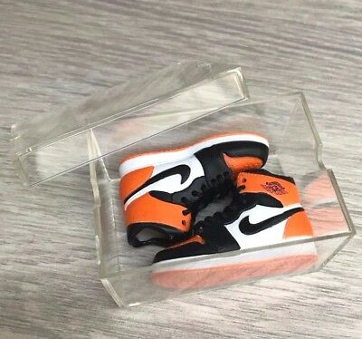 1//6 Air Jordan 10 TOYS Sneakers Enterbay Nike Keychain Sports Hot Shoes Box USA