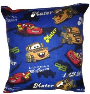Cars-Pillow-Disney-Cars-Pillow-Matter-amp-McQueen-Pillow-HANDMADE-In-USA