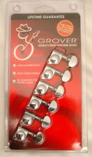 Grover 406C6 6-In-Line Mini Self Lock Tuning Machine Heads Fender Locking Tuners