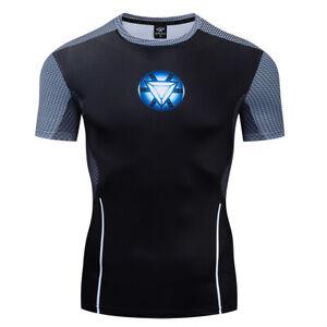 3D-T-shirt-Iron-man-Batman-Avengers-Fashion-Outdoor-Sports-Tee-Men-039-s-Sweatshirt