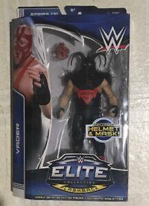Wcw Wwf Wwe Mattel Collection Elite Figurine Big Van Vader avec casque et masque