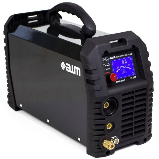 AWM AMT-200P Schweißgerät IGBT Inverter MMA WIG TIG AC/DC Puls HF LIFT 2T 4T