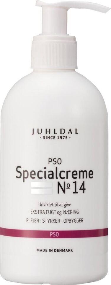 Andet, Creme, Juhldal PSO Specialcreme 250 ml