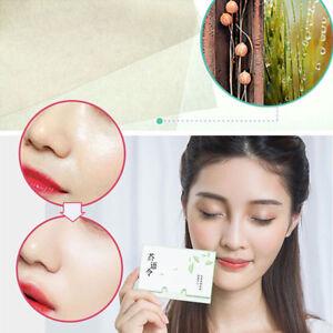 100Pcs/Pack Facial Absorbent Oil Paper Farewell Oil Face Face Beauty Supplies