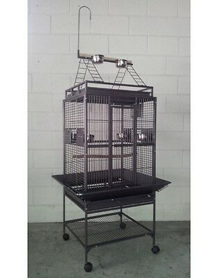 Brand New * Large Bird Cage Parrot Aviary with Free Standing Gym - 167cm *  ED32