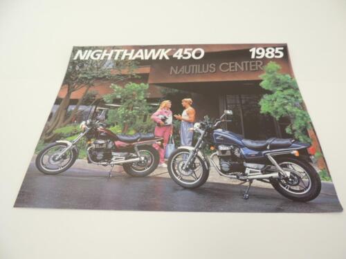 NOS 1985 Nighthawk 450 CB450SC CB450  Honda Dealer Brochure L47