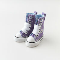Neo Blythe Pullip Azone Doll Canvas Sneakers Micro Shoes - Purple