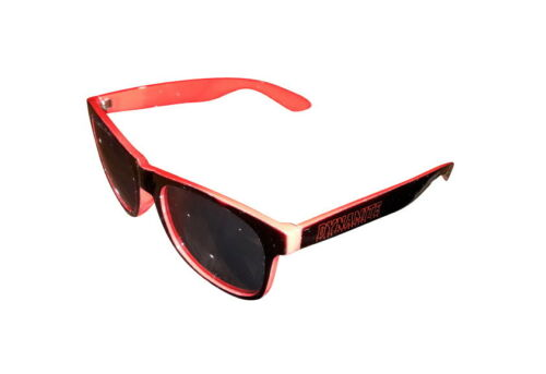 Dynamite Forever Sunglasses Stealth Black Red Shades Skateboard Eyewear