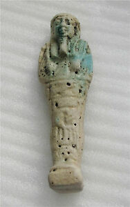 image is loading egypt 600 bc xxvi dynasty funeral death ushabti - Faience Colore