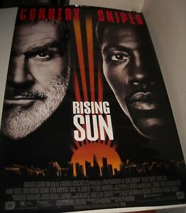 ROLLED-1993-RISING-SUN-1-SHEET-MOVIE-POSTER-27-x-41-SEAN-CONNERY-WESLEY-SNIPES