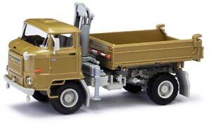 Busch-95541-1-87-H0-Ifa-L60-Dsk-avec-Grue-Olive-Vert-Neuf